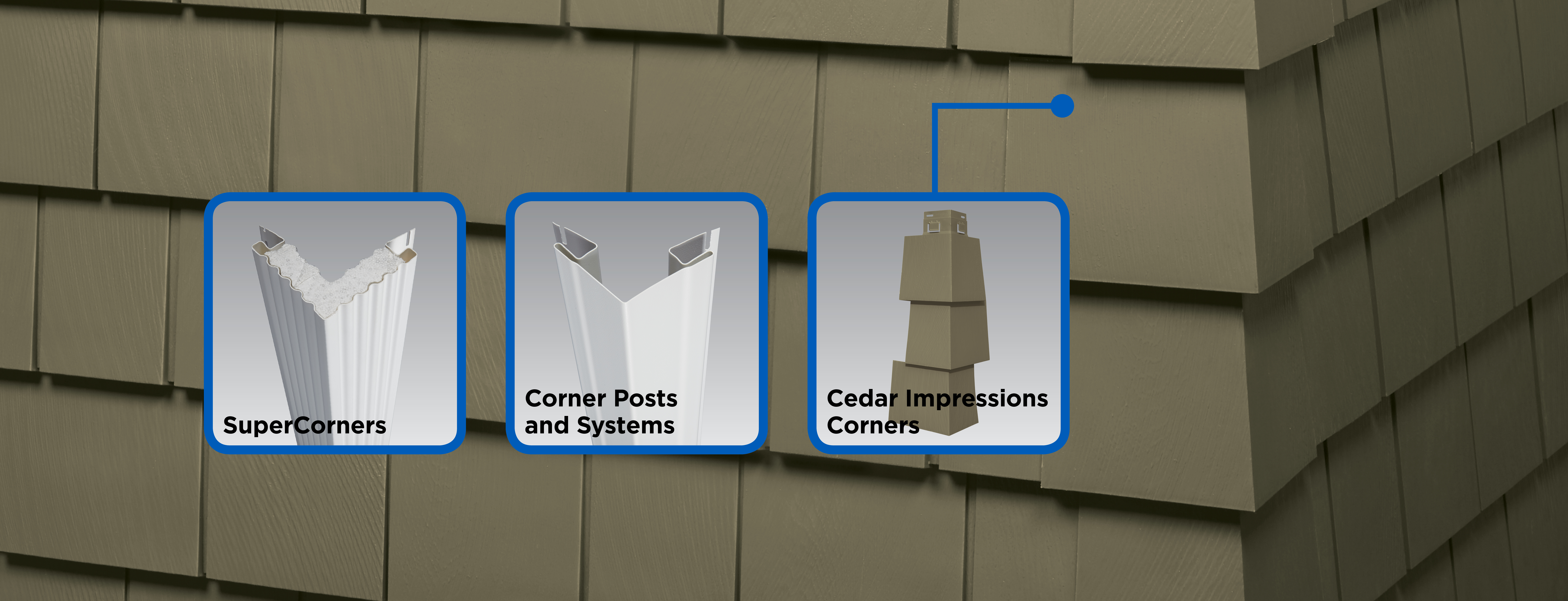 Vinyl Carpentry 174 Corner Systems Siding Trim Certainteed