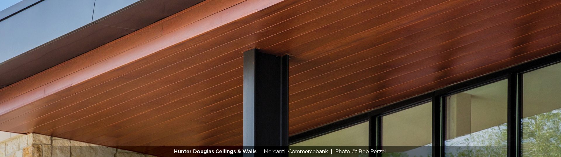 150F - Linear Metal Soffit System - Specialty Ceilings and