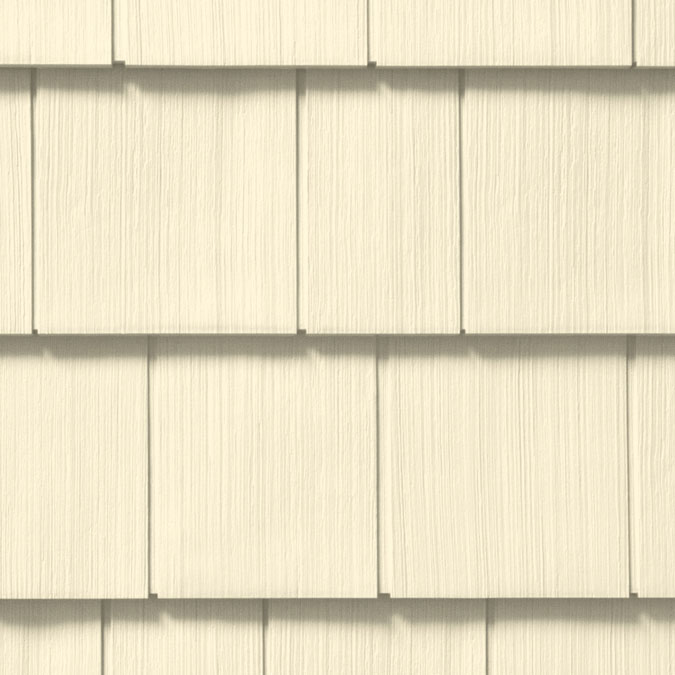 "7 Popular Siding Materials To Consider: Cedar Impressions® Double 7"" Vinyl Shingle Siding"