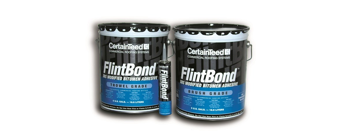 Flintbond 174 Brush Commercial Roofing Certainteed