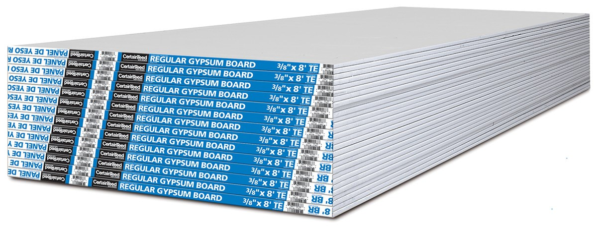 Gypsum Core Board ~ Standard gypsum board certainteed