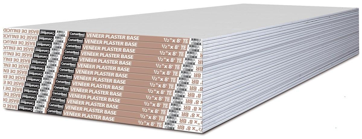 Veneer Plaster Base Drywall Drywall Certainteed