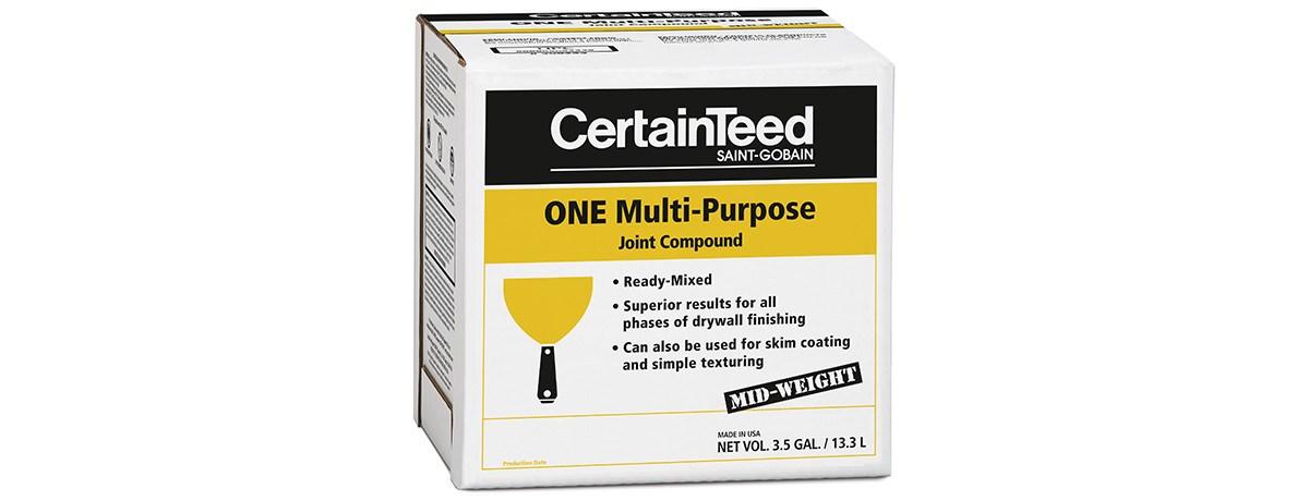 One Multi Purpose 3 5 Gal Carton Drywall Certainteed
