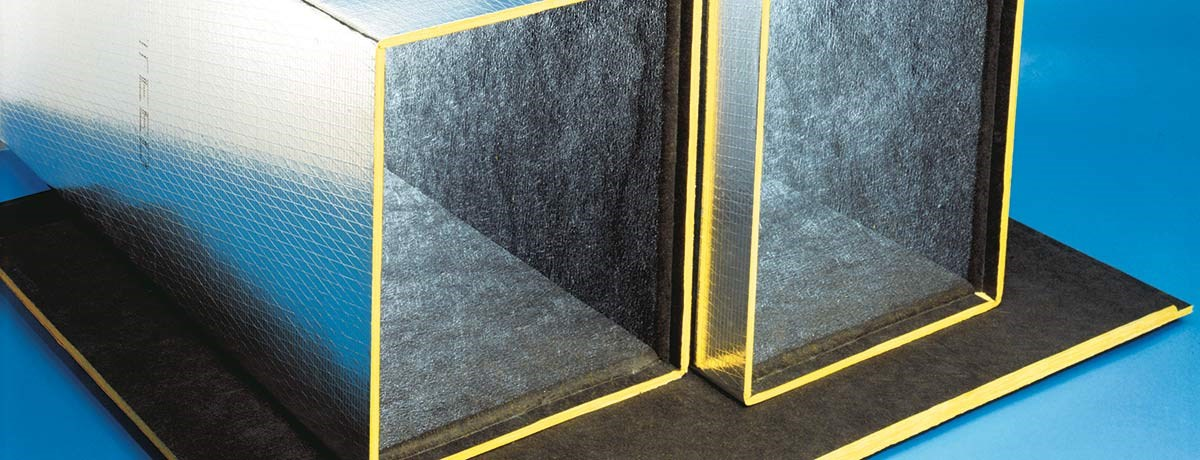 Hvac Duct Insulation : Ultra duct™ black duct board hvac industrial