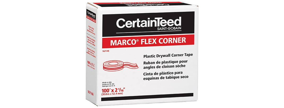 Marco® Flex Corner Tape - Drywall - CertainTeed