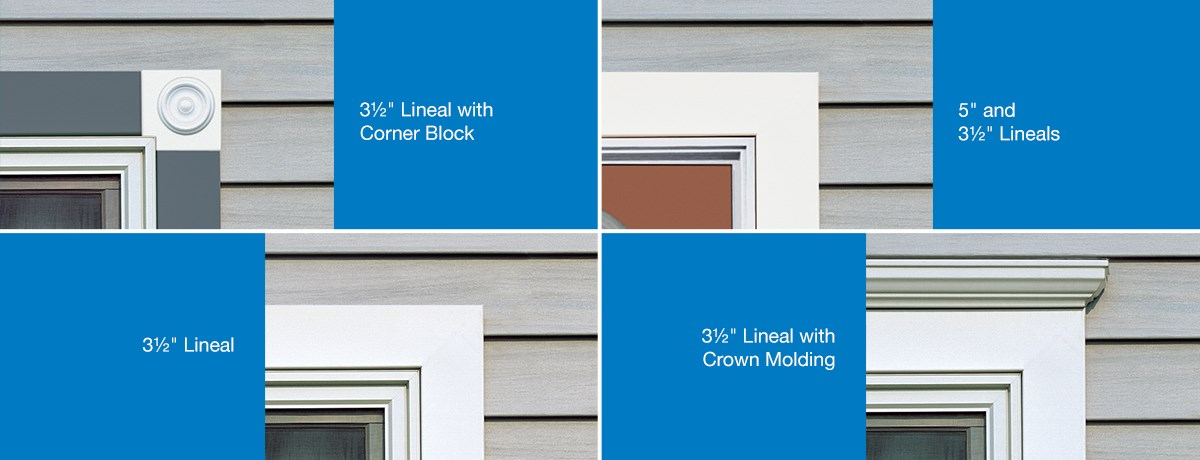 Vinyl Carpentry 174 Window And Door Surrounds Siding Trim