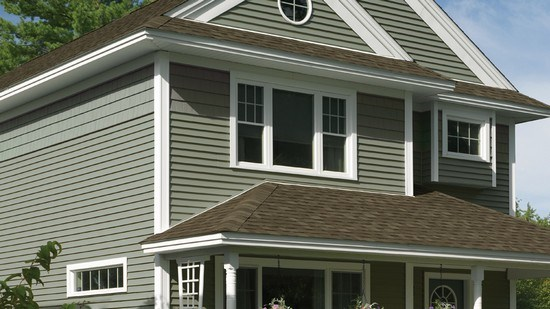 Cedar impressions accent certainteed for Cypress color vinyl siding