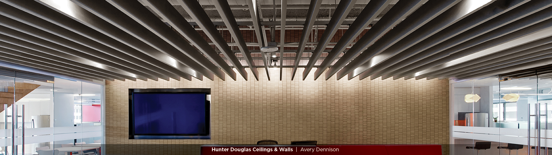 High Profile Series™ - Straight Baffle Ceiling - Specialty