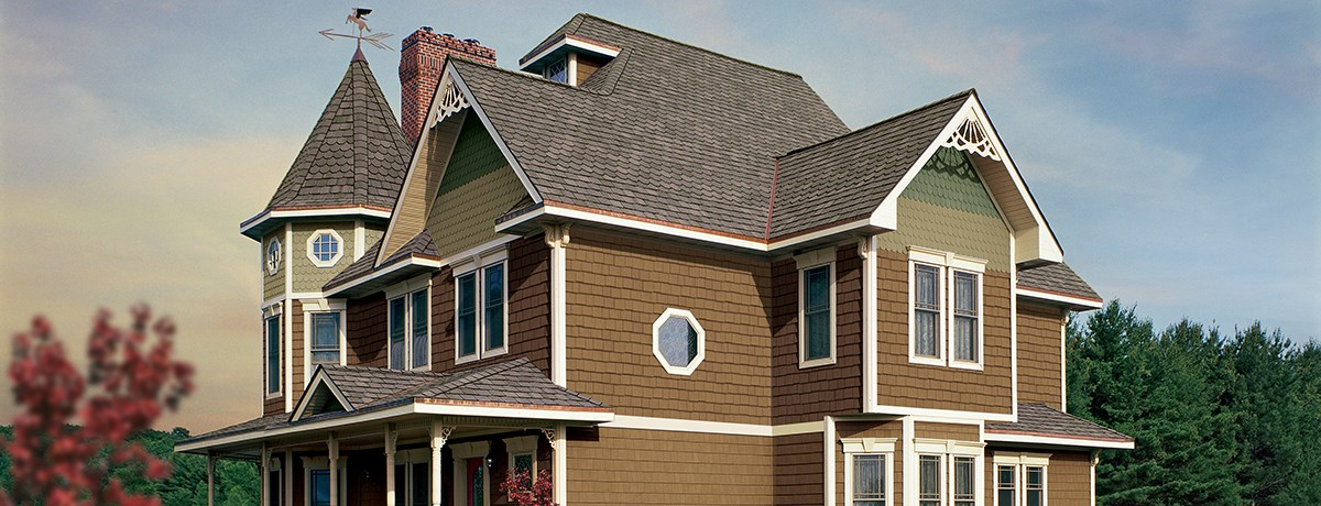 Cedar Impressions Double 7 Staggered Perfection Shingles Siding