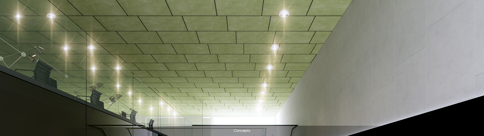 Techstyle Custom | Customizable Ceiling Panels | CertainTeed