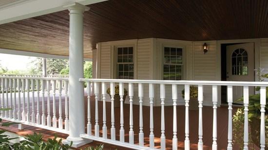 kingston vinyl railing systems certainteed. Black Bedroom Furniture Sets. Home Design Ideas