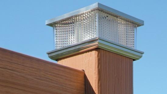 Decorative And Solar Post Caps Railing Certainteed