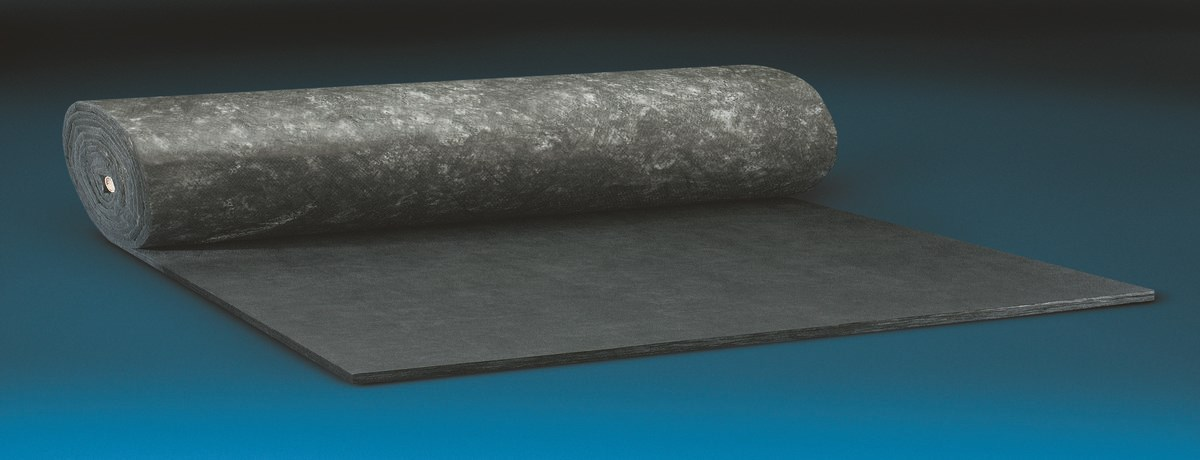 Commercial Acousta Blanket Black Technical Insulation