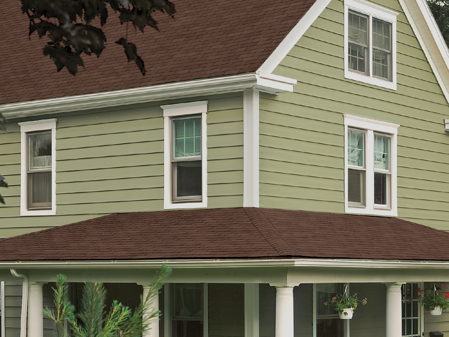 Certainteed siding vinyl polymer stone and composite for Sustainable siding