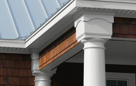 PVC Trim Boards, Trim And Sheets Are A Low Maintenance Alternative To Exterior  Wood Trim. Unlike Wood, The Dimensions Of Restoration Millwork PVC Trim ...