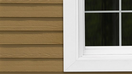 Project. Great Exterior Window Trim Accent