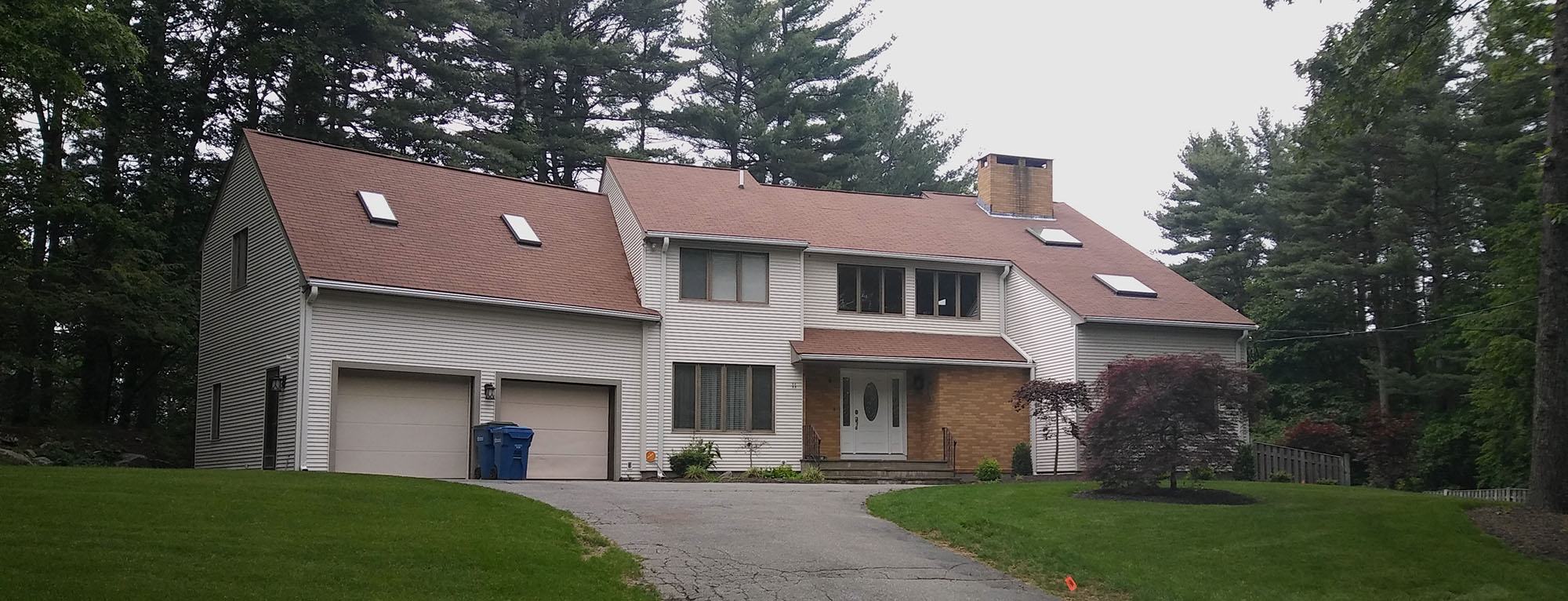 remodeler of the quarter certainteed marios roofing exterior makeover before
