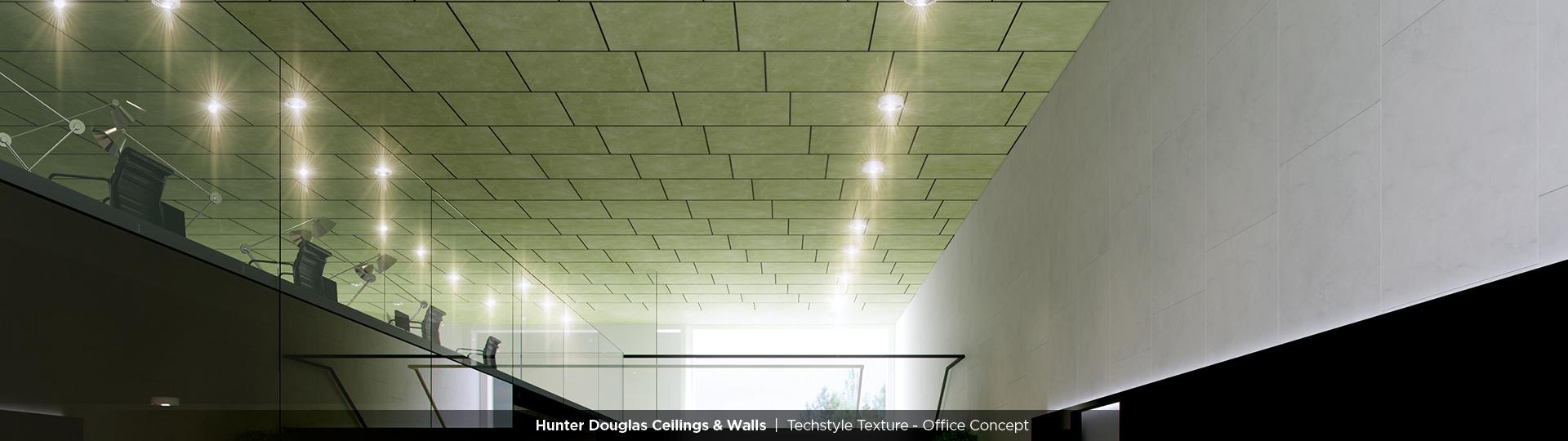Techstyle Texture   Hunter Douglas Ceilings & Walls   CertainTeed