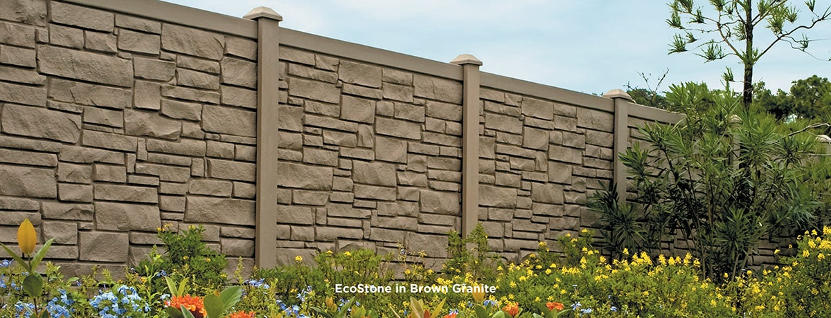 Simtek Fence Ecostone Amp Ashland Fences Certainteed