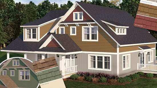 certainteed siding vinyl polymer stone and composite siding