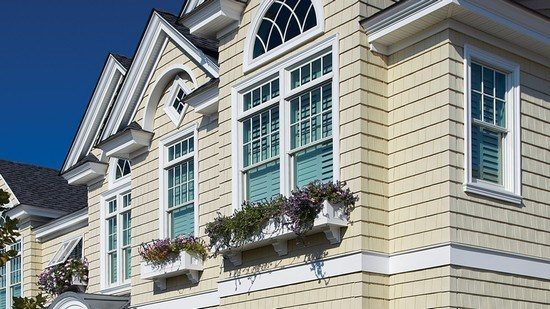 Great Exterior Window Trim Accent Certainteed