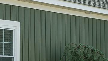 Vertical siding vinyl vertical siding panels certainteed for Vertical board siding