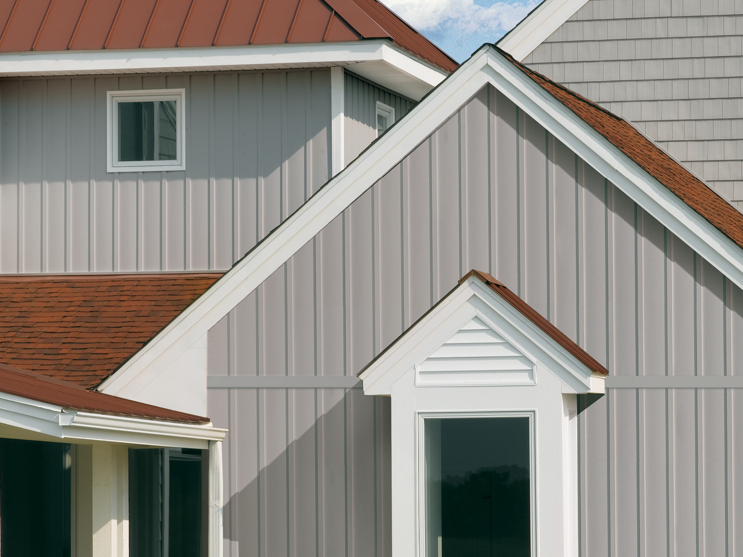 Certainteed siding vinyl polymer stone and composite for Vertical siding options