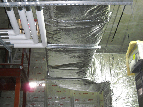 Certainteed Duct Insulation Enhances Thermal Efficiency Of Hvac System Certainteed
