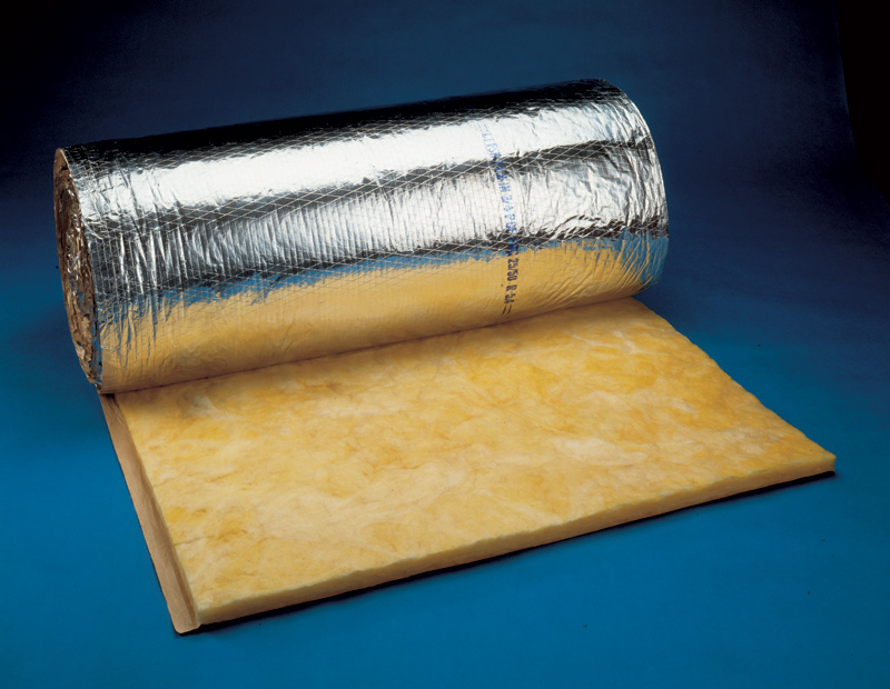 Improve indoor air quality with fiber glass duct for Glass fiber board insulation