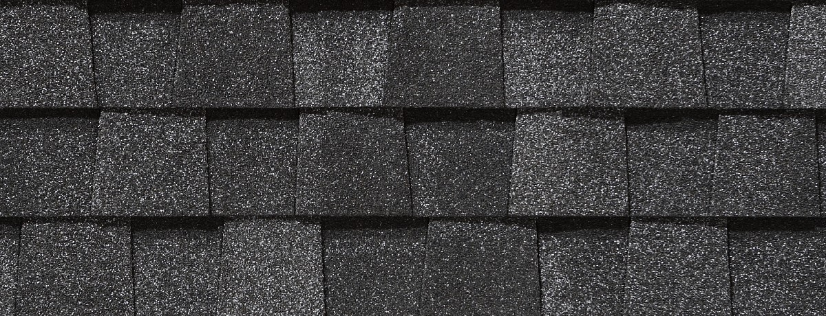 black architectural shingles.  Shingles 2204 Inside Black Architectural Shingles H