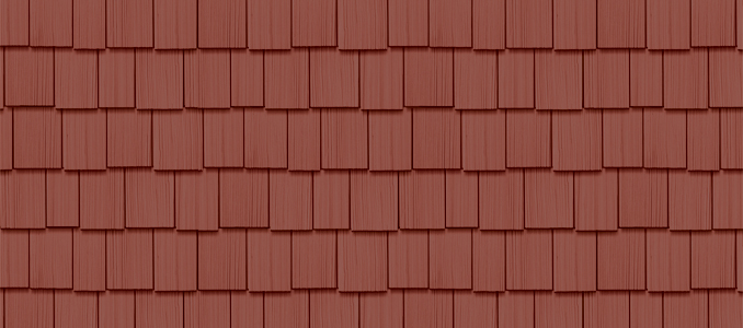 "7 Popular Siding Materials To Consider: Cedar Impressions® Double 9"" Staggered Rough-Split Shakes"