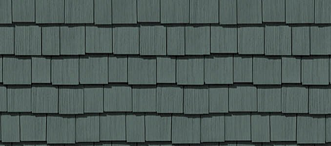 "7 Popular Siding Materials To Consider: Cedar Impressions® Double 7"" Staggered Perfection Shingles"