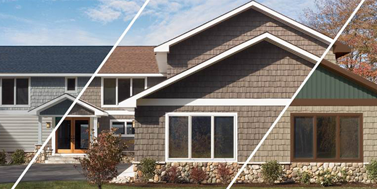 Design tools certainteed for House siding designs