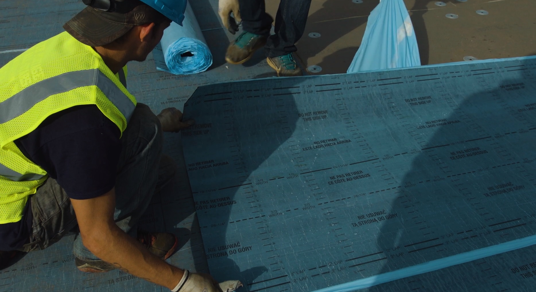 Installing Flintlastic Sa Self Adhered Roof Systems In
