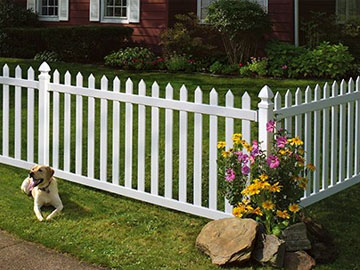 Vinyl fence systems certainteed - Pvc fencing solutions ...