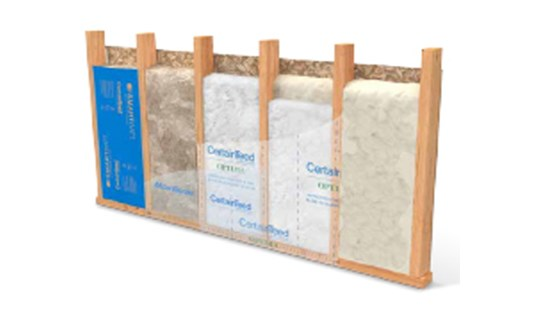 insulation with moisturesense technology from certainteed insulation