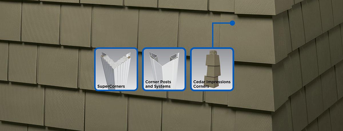 Vinyl Carpentry® Corner Systems - Siding, Trim - CertainTeed