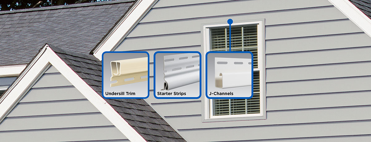 7 Popular Siding Materials To Consider: Vinyl Carpentry® Functional Trim