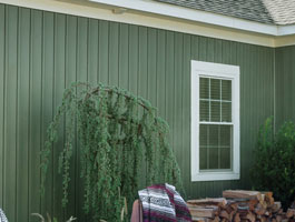 CertainTeed Board and Batten Vinyl Siding